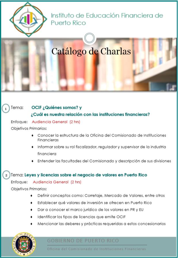 Instituto De Educación Financiera De Puerto Rico